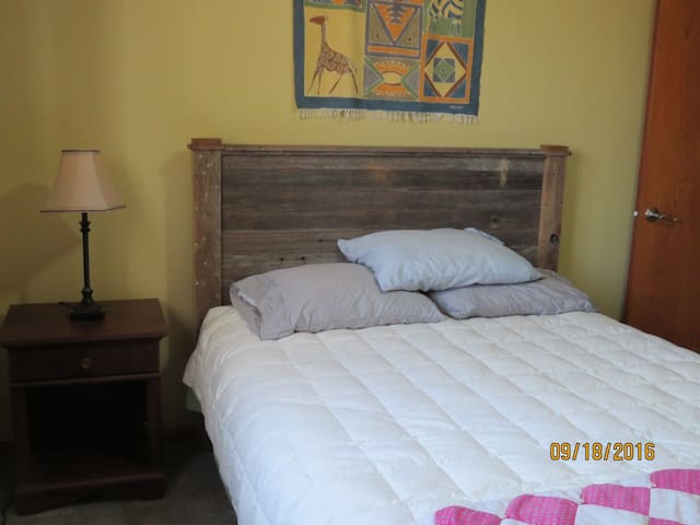 Private lower level Bedroom  & Bath - New Ulm - Huis