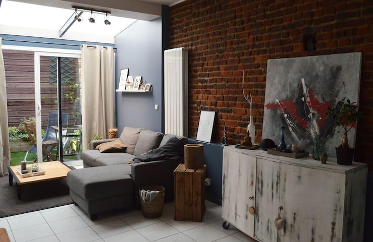 Chambre cosy proche métro avec petit déj