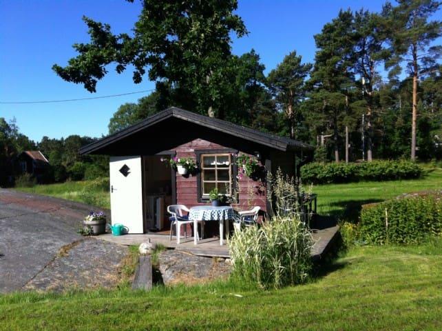 Stuga Norra Stavsudda i Stockholms skärgård - Norra Stavsudda - Dům pro hosty