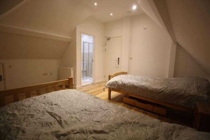 Twin ensuite 25 mins to C. London