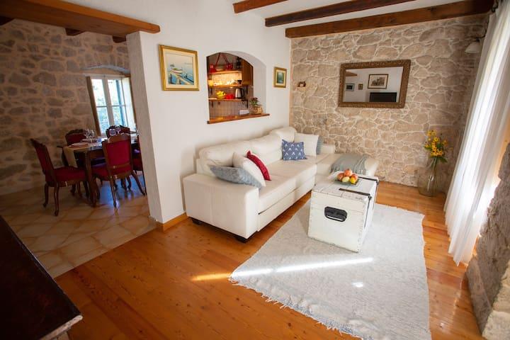 dalmatian romantic traditional apartment