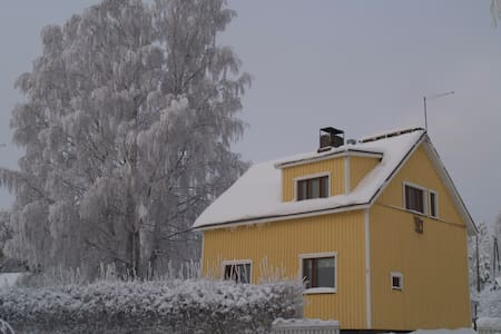 Lovely 2-floor family house with three bedrooms. - Lappeenranta - Rumah