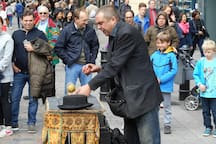 Magicians' Corner Covent Garden Piazza