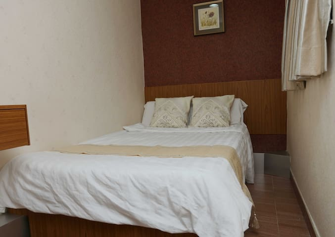 Separate room with a private bath. 2 beds room