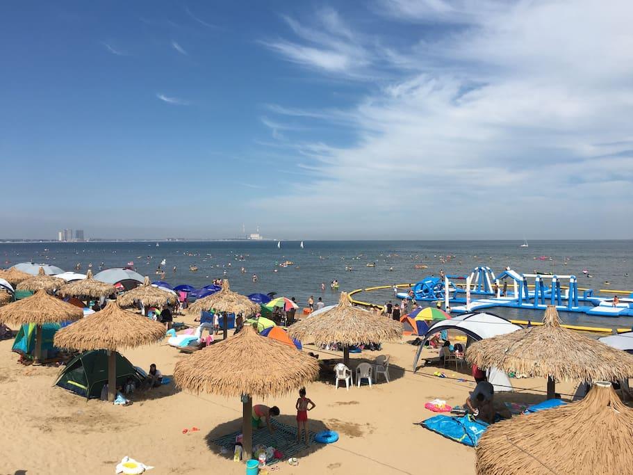 业主私属海滩