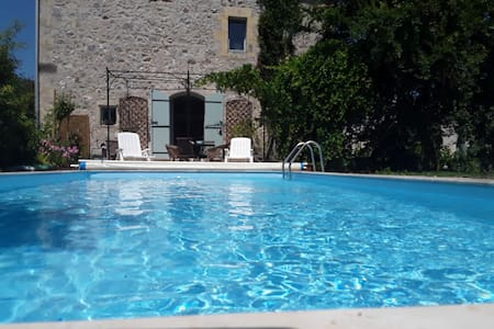lovely cottage with private  pool, in Dordogne