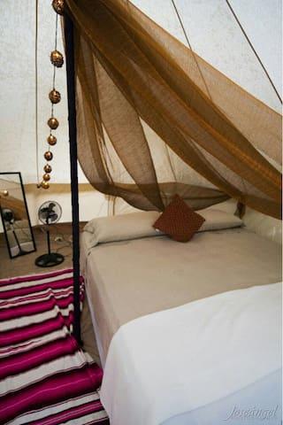 Bell tent boutique playa las palmas - Tulum - Iurta