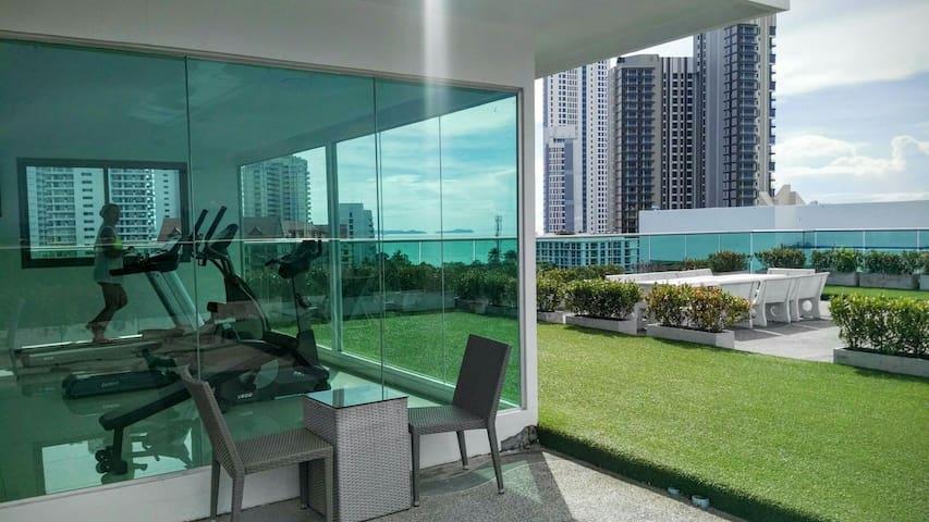 CLUB ROYAL B1703 ALL INCLUDED - Muang Pattaya - Apartmen