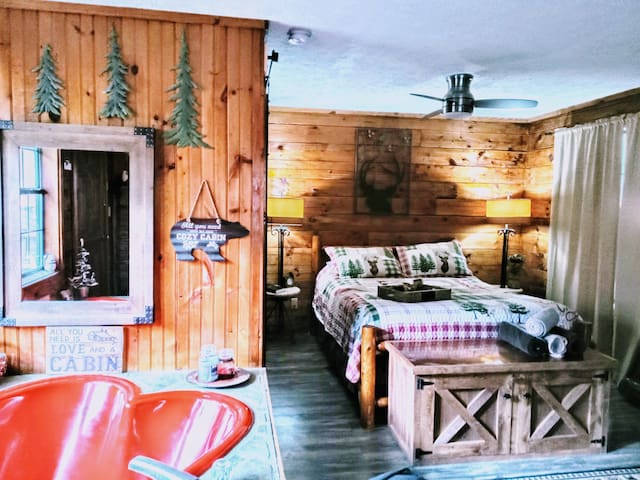 Little Cabin in the Smokies, Private and romantic!