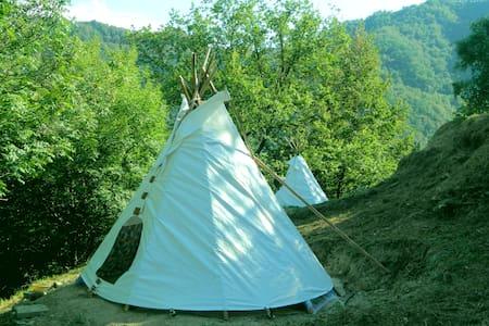 Camping estemo in Teepee. - Città Metropolitana di Genova - Tipi