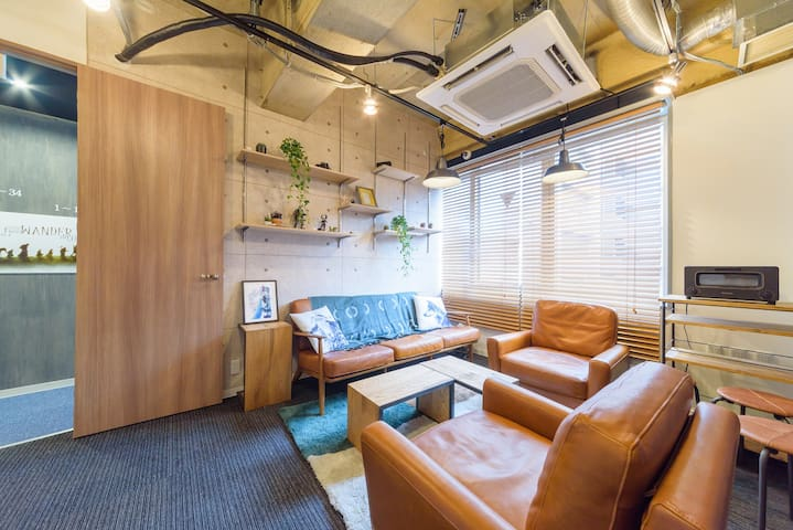 13. Cozy hostel in center of Tokyo,(Mix dormitory)
