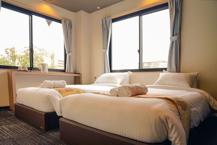 *Room403*Kyotofish Boutique Hotel*1min to Kamogawa