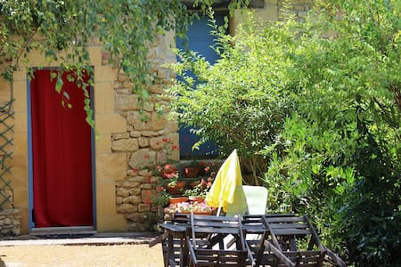 Chambre d'hôtes/ Gîte - route de Sarlat-Périgord. - Badefols-sur-Dordogne - Casa de huéspedes