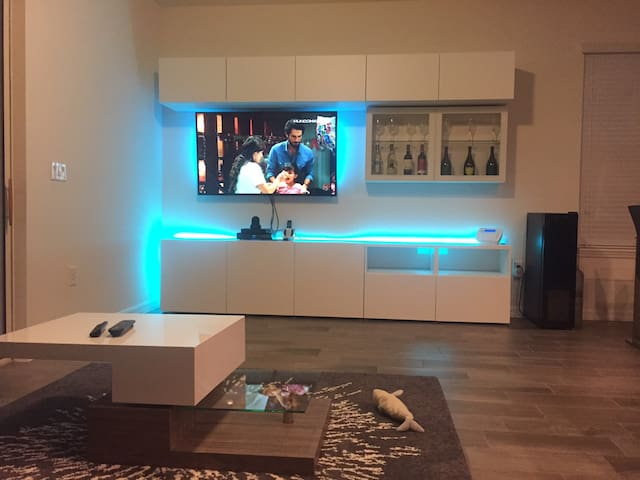 Modern home with private room available near UCF - Oviedo - Hus