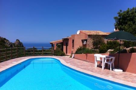 Villa del Sol sea view and pool - Costa Paradiso