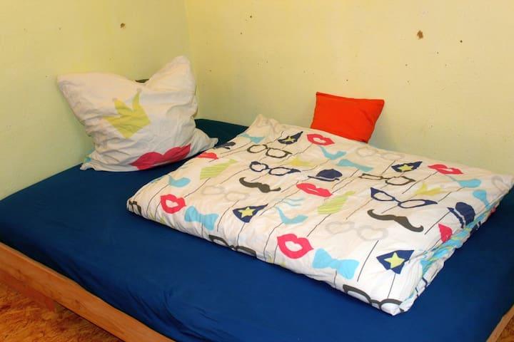 Gästezimmer (4) für 1-2 Personen (1 Bett 140x200)