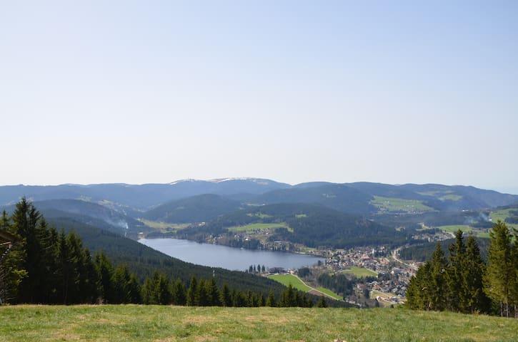 Schöne Ferienwohnung Panoramablick - Lenzkirch - Appartement