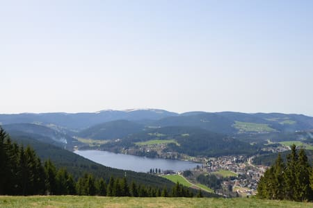 Schöne Ferienwohnung Panoramablick