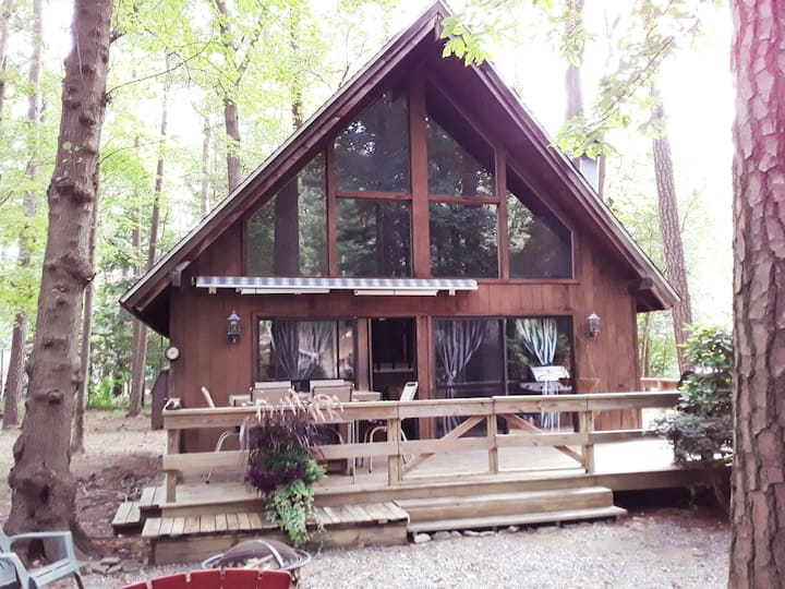 Captivating A-Frame  in beautiful,  Ocean Pines
