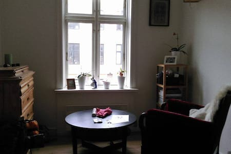 Simple and cozy room in shared apartment - Copenhague