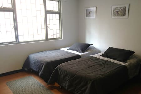 Twin room in exclusive quiet area - Bogotá