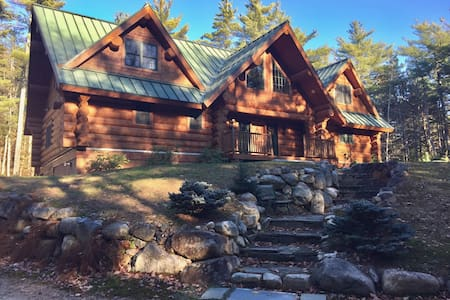 Once Upon A Pine-17 Acres of Privacy. Log Home - Conway - Dom