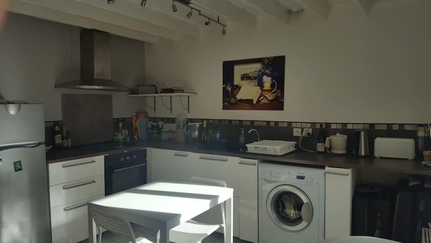 Appartement pratique et équipé