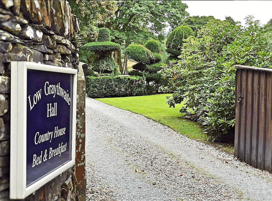 Low Graythwaite Hall Entrance