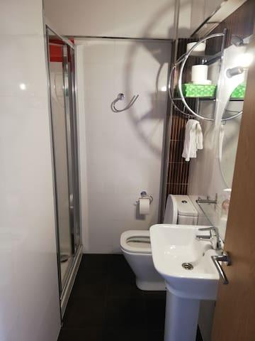 Habitacion para pareja baño privado