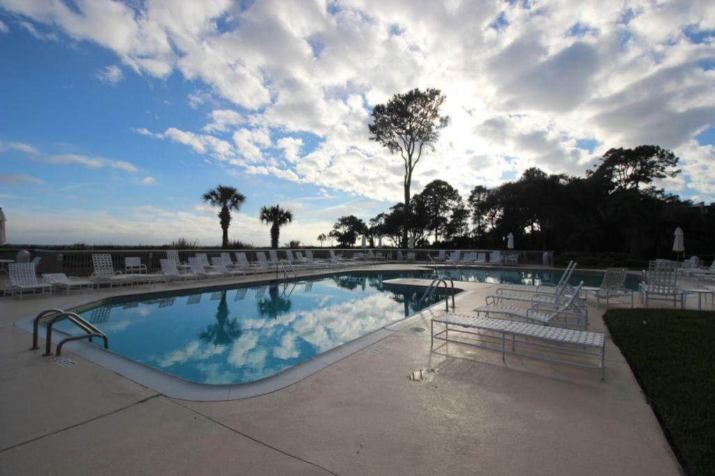 Oceanfront Condo Steps To The Sand Condominiums For Rent In Hilton Head Island South