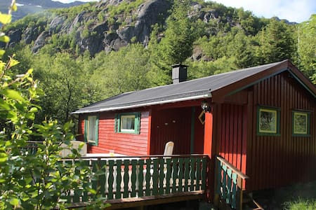 Cozy small cottage by the sea, Lofoten! - Laupstad - Casa de campo