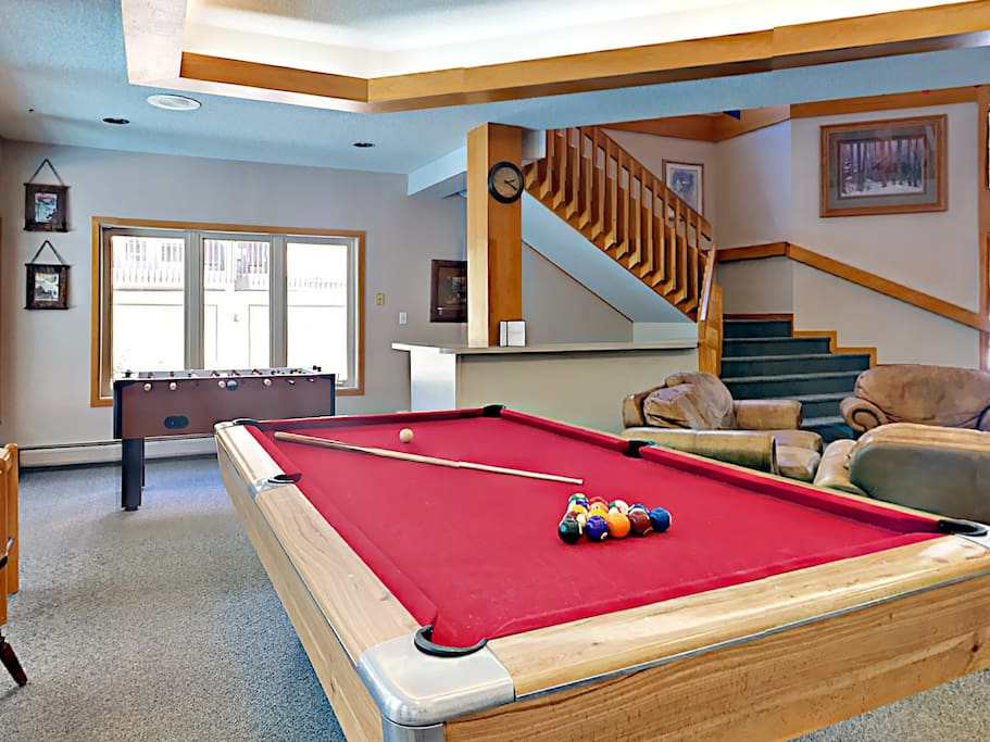 Play a friendly game of pool.