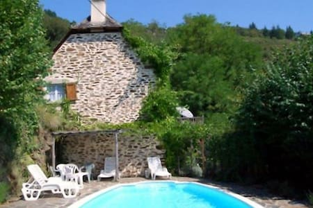 Lovely renovated stone cottage & private pool - Le Fel - House