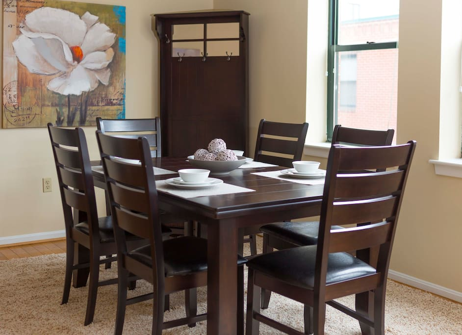 Dining Room at The Garrison Square by Stay Alfred