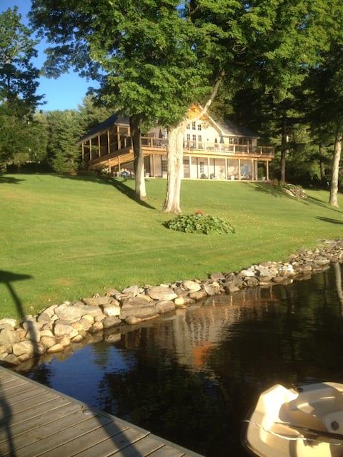 Cottage Gates on Galway Lake, Saratoga County, NY