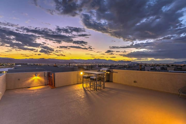 Haywood Estate · Dazzling 3 Story Home with Full Rooftop Deck