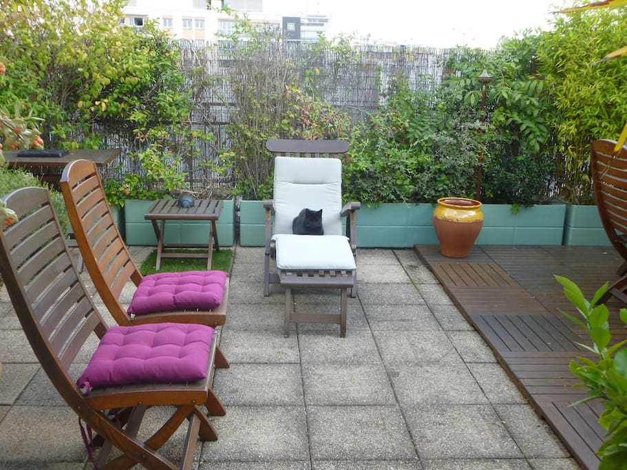 Appartement terrasse sur le toit apartments for rent in paris le de france france - Appartement toit terrasse paris ...