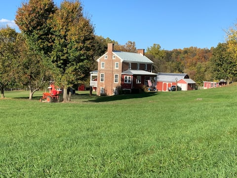 The Farm House on the Shenandoah River