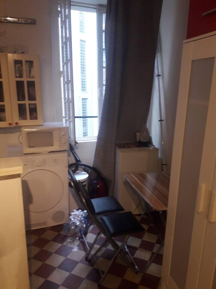 Studio quartier Notre-Dame