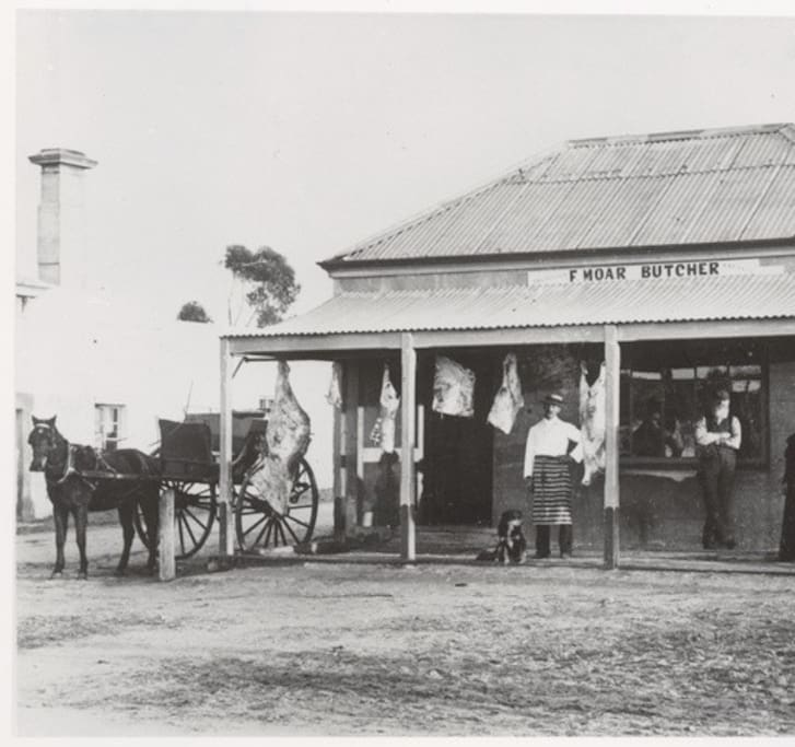 1906 The Old Butcher's Shop, Milang