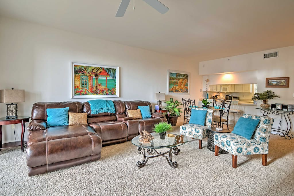 Enjoy comfortable furnishings and luxurious amenities throughout 1,200 square feet of well-appointed living space.