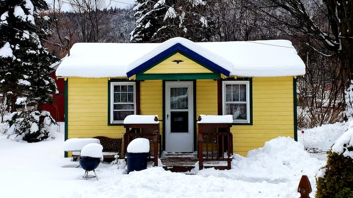 Catskill Bungalow Tiny House Rental Windham Hunter