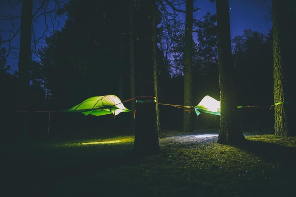 Time to redefine you camping experience!