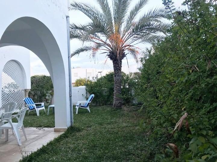 Maison rez de jardin à Jinène Hammamet Tunisie