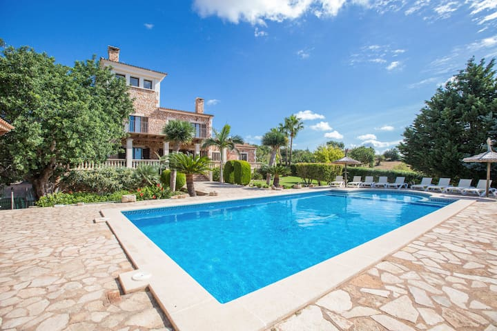 CAN PALLETA - Villa for 10 people in s'Horta.