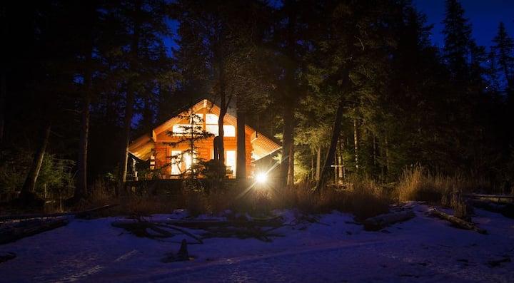 """The Cabins at Kenai Lake- """"Chenega"""""""