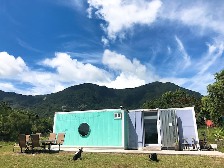 One and Only Container House in Taitung -Paradise