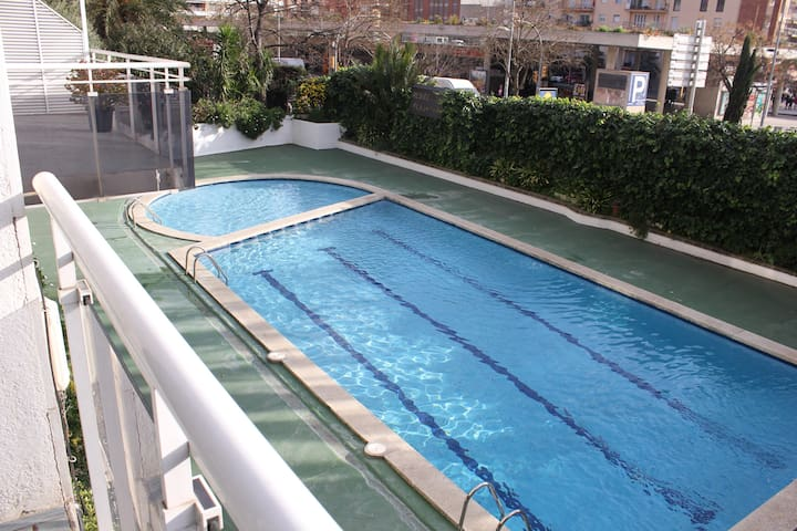 Sunny apartment with pool near the beach - Lloret de Mar