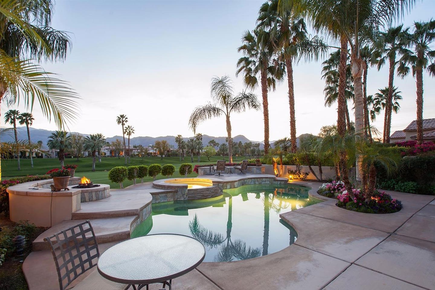 Relax - its the end of a beautiful day in La Quinta!