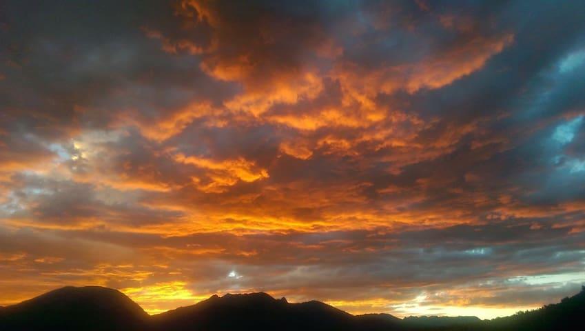 Retro Colorado Rocky Mountain Retreat